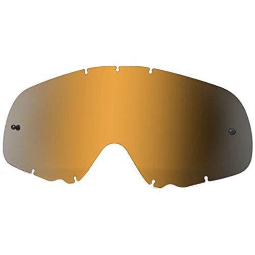 Oakley Crowbar MX Replacement Lens (Black Iridium, One - Lens Iridium Crowbar Oakley Black