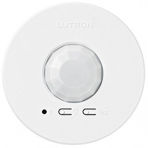 LRF2-OCR2B-P-WH Motion Sensor, Wireless Radio Power Saver Occupancy/Vacancy Sensor - White-2PK
