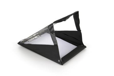 RainWriter A4 Portrait Waterproof Clipboard Black (Black)