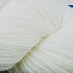 (Cascade 220 Superwash ARAN Yarn - ARAN WEIGHT - White)