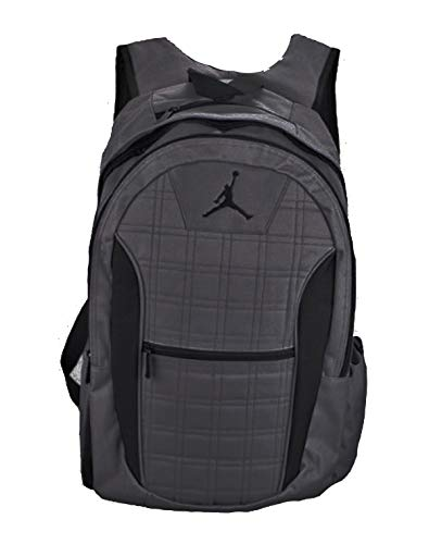 - Jordan Grid 2-Strap Backpack - Dark Graphite, One Size (Grey)
