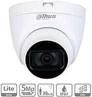 Dahua HAC-HDW1500TLQ-A - Camara Domo de 5 Megapixeles/Microfono Integrado/Lente de 2.8mm/ IR de 30 MTS/ IP67/