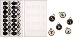 Bulk Buy: Advantus Tim Holtz Idea Ology Typewriter Keys 16/Pkg TH92819 (2-Pack)
