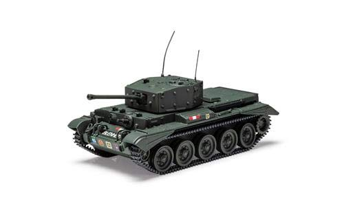 Corgi Diecast Cromwell IV Tank - 2nd Armored Welsh Guards 1944 1:50 WWII Military Display Model CC60613 from Corgi