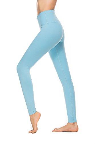 Charaland Yoga Pants for Womens Foldover Leggings, 5