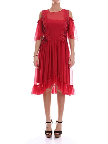 Alberta Ferretti Women's A04730114red Red Silk -