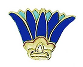 Amazon Sale Reproduction Of The Egyptian Lotus Brooch From