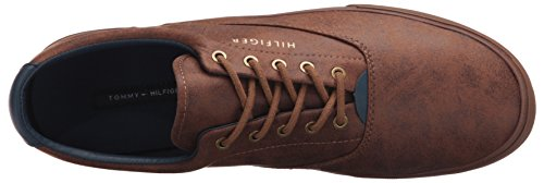 Tommy Hilfiger Mens Phelipo 2 Fashion Sneaker, Cognac, 9.5 M US