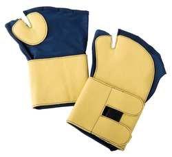 CONDOR 2HEV8 Anti-Impact Gloves, Nvy/Gld, XL, Fingerless