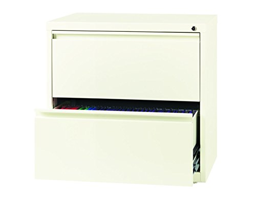 Office Dimensions Commercial 2 Drawer Lateral File With Full Width Pull, 30  Inch