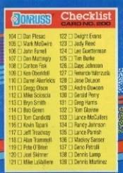 Amazoncom 1991 Donruss Baseball Card 200 Checklist 104 179 Mint