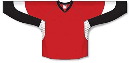 - 2010 Ottawa RED Gussets Pro Plain Blank Hockey Jerseys