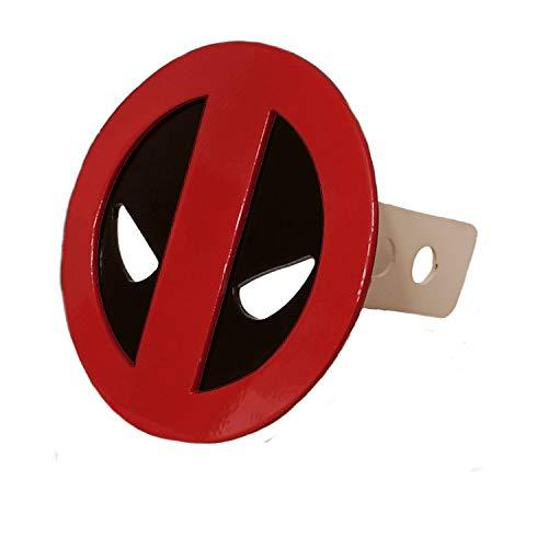 New Metal Marvel Comics Deadpool Hitch Plug Receiver Cover 1-1/4