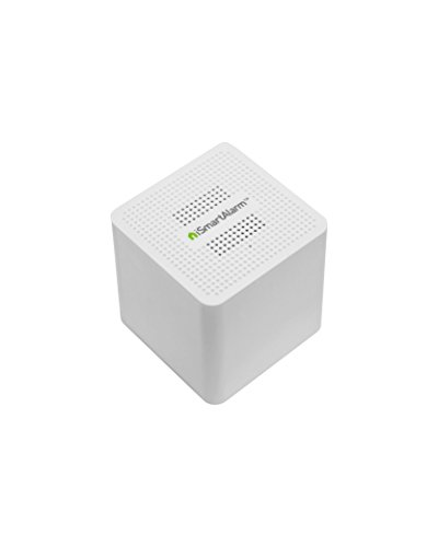 iSmartAlarm Satellite Siren | 110db Adjustable Volume Alexa & IFTTT Compatible | AS3, White by iSmartAlarm