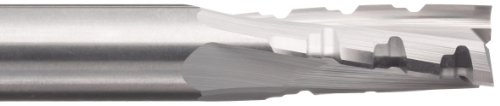 variant image of LMT Onsrud 67-211 Solid Carbide Upcut Phenolic Cutting Tool, Inch, Uncoated (Bright) Finish, 10 Degree Helix, 3 Flutes, 3.0000