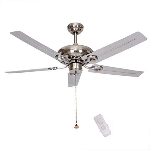 Ventilador de techo ZHAOSHUNLI Reversible Hogar Sala de Estar ...