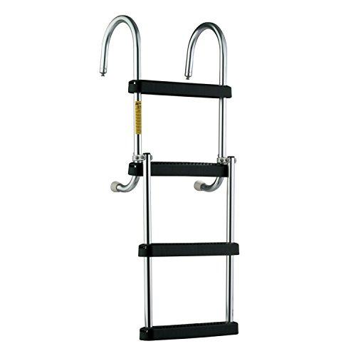 Garelick/Eez-In 12350:01 Removable Folding Pontoon Boarding Ladder