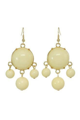 alexa-starr-goldtone-lucite-bubble-earrings-yellow