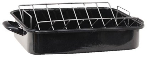 Granite Ware Heavy Gauge Roaster with Rack by Granite Ware