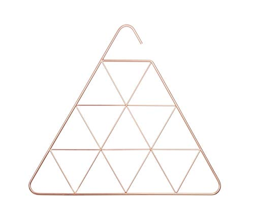 Functional Copper Pendant - Umbra Pendant Triangular Copper Scarf Hanger/Accessory Hanger, Copper