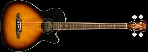 Fender FA-450CE Acoustic Bass Guitar - 3-Color Sunburst - Laurel Fingerboard Bass Guitar 3 Color Sunburst
