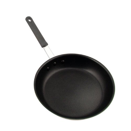 Challenger HOFRY12SH Fry Pan with Handle, 12-Inch, Black