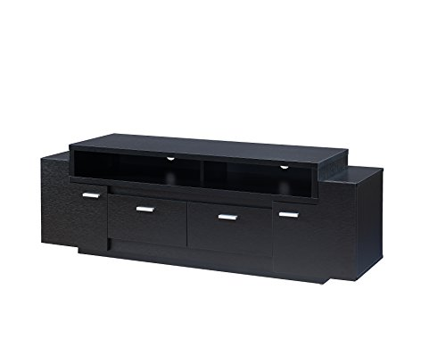 ioHOMES Amani Modern TV Stand, Black