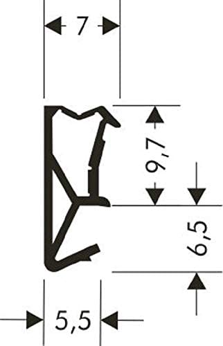 Fensterdichtung Fl/ügel-Rahmendichtung SV-105 Fl/ügelfalzdichtung T/ürdichtung