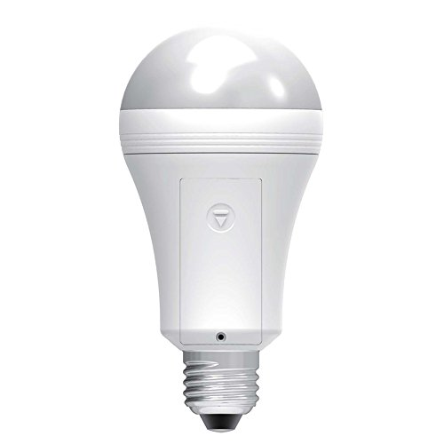 Sengled Everbright Emergency LED Light Bulb with Rechargeable Built-in Backup Battery, Provides Light During Power Outages, 40W Equivalent Soft White LED Flashlight -  EB-A19NAE26W