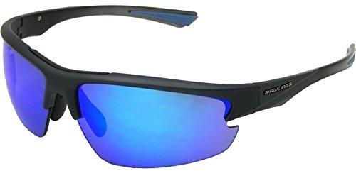 Rawlings R31 Graphite Smoke Blue Adult Baseball/Softball Sunglasses - Baseball Rawlings Sunglasses