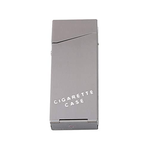 En Aluminium À Étui Aofocy tabac Durable Gris Pour Cigarettes Mince Porte TUxSnFZw