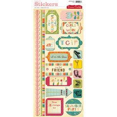 (Cosmo Cricket Cardstock Stickers - Girl Friday)