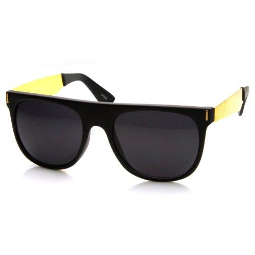 zeroUV Retro Fashion Rimmed Sunglasses