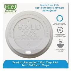 Eco-Products Inc Ecp Ep-Hl16-Wr C-Plas Hot Cup Lid 1000 ECP EP-HL16-WR (Post Plas)