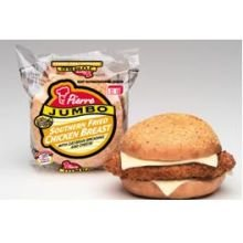 Pierre Jumbo Southern Fried Chicken Breast Sandwich, 6.4 Ounce -- 12 per case.
