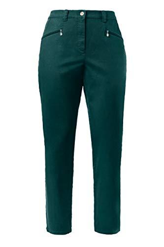 64 Ulla 39 Grandes Tailles 624655 Enfiler Foncé Coupe Popken Vert 66 Pantalon Extensible À Moderne Femme Facile Évasée uF5TKcl1J3