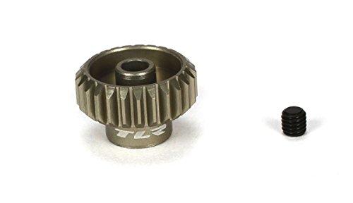 Team Losi Racing 48P Aluminum Pinion Gear, 25T, TLR332025