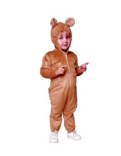 RG Costumes Infant Baby Teddy Bear Costume, 1-2