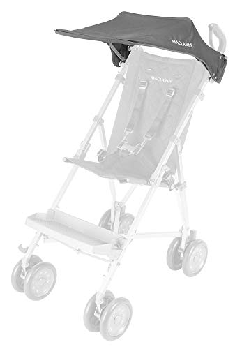 (Maclaren Major Elite Push Chair, Sunshade, Charcoal Color)