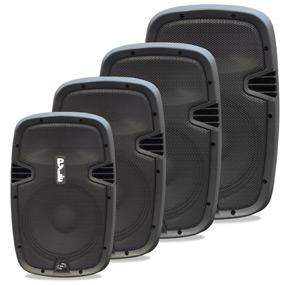 2-Way Powered Speaker Systems