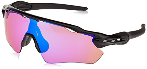 Oakley Men's OO9208 Radar EV Path Shield Sunglasses, Polished Black/Prizm Golf, 38 ()