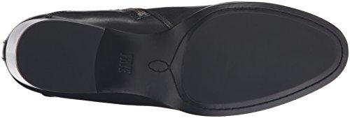 Women's Zip Clara Boot Frye Black Short Leather 7EqvPxdw