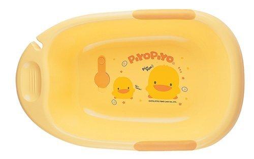 Piyopiyo Duck Dlx Bthtub Size 1 Eac Piyopiyo Duck Deluxe Bathtub Yellow 1 Each by Piyo Piyo