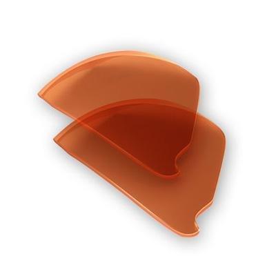 NIKE Show X1 Sunglass Replacement Lenses - EVA129 (Orange Blaze) ()