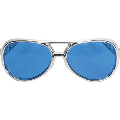 Rock and Roller Glasses Color: Silver / (Rock & Roller Glasses Silver And Blue)