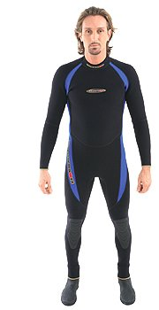 7/5mm Henderson Mens Gold Core Scuba Diving Full Jumpsuit Wetsuit Dive Suit Snorkeling Swimming Surfing Men's Authorized Dealer Full Warranty, 3XL ()
