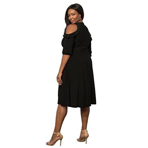 7a1880c06ea 60%OFF Kiyonna Women s Plus Size Barcelona Wrap Dress - s-c-r-a-p ...