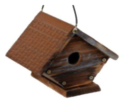 Woodlink HF31644 Rustic Wren Bird House - Quantity 4