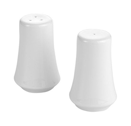 overandback 811533 Classic Bone Salt and Pepper Pair, White