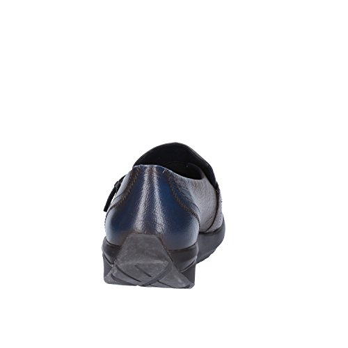 MBT Mokassins Damen 37 EU Grau Blau Leder